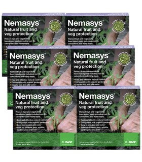 Nemasys Fruit & Veg Protection Programme (3 x 2 Packs / 3 Months Supply)
