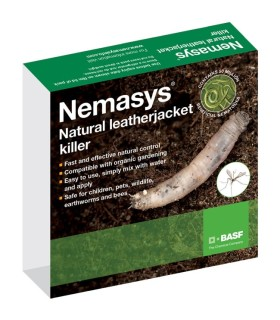 Nemasys Leatherjacket Killer Programme -  (Spring 50 sq m and Autumn 100 sq m)
