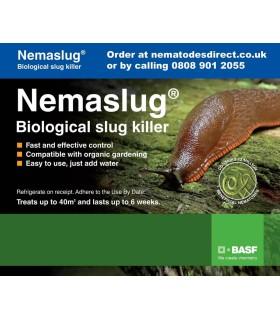 Nemaslug - 40m2 (Underglass usage)