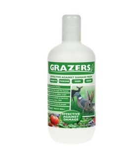 Grazers G1 - Protection against damage from Rabbits, Pigeon, Deer & Geese -  375ml (Concentrate)