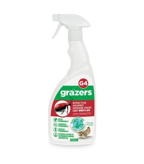 Grazers G4 – effective against damage from Lily Beetle - 750ml ECO spray (Ready to use)